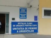 Lucrări de întreținere la clădirea spitalului de copii din Cluj