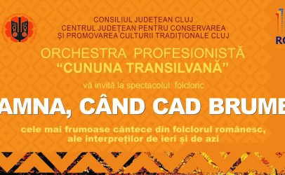 Spectacol  folcloric cu intrare liberă la Casa de Cultură a Studenților