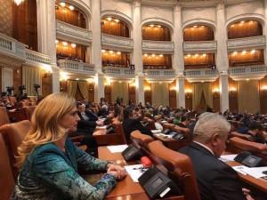 Deputatul PSD de Turda, Cristina Burciu nu a votat modificările restrictive din Regulamentul Camerei Deputaților