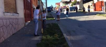 Promisiuni neonorate: Post de poliție și containere de gunoi pe Barbu Lăutaru