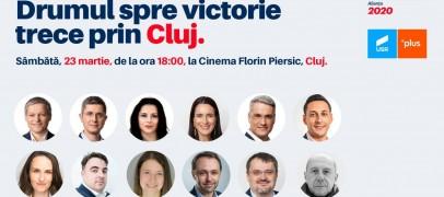 """Candidații USR vin sâmbătă la Cluj. """" Drumul spre victorie trece prin Cluj"""""""