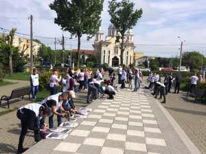Circa 100 de membri și voluntari USR au iesit în campanie electorală, la Turda