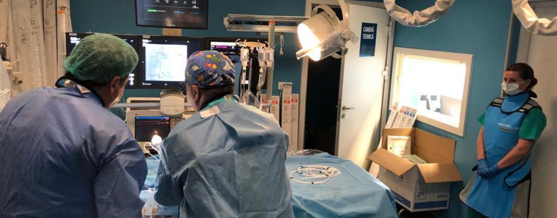 Premieră medicală la Cluj. Pacienți cu ocluzie coronariană totală cronică, salvați la Spitalul Monza-Ares