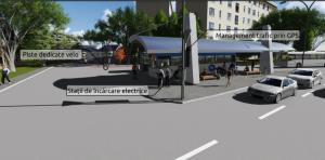 Așa ar trebui să arate stația de autobuz de la capăt de linie în din Micro III