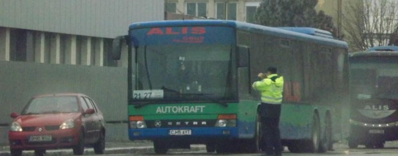 STP: Autorit�ţile rutiere au falsificat dovezile  privind ilegalit�ţile din transportul local