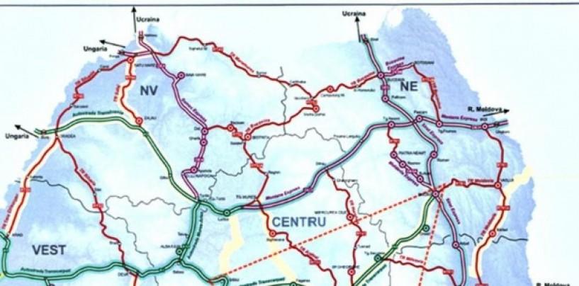 Guvernul a dublat kilometrii de autostr�zi de pe hârtie. Turda s-a ales cu un drum expres, din 2030