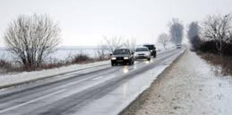 Ninsoarea nu a făcut probleme în judeţul Cluj