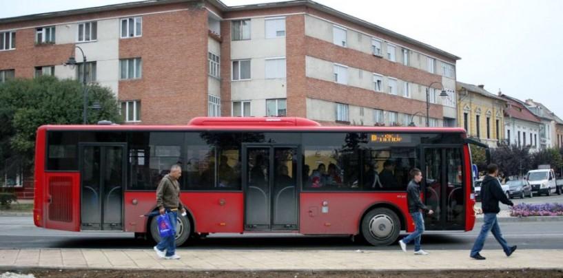 STP va asigura transportul public după orarul de week-end