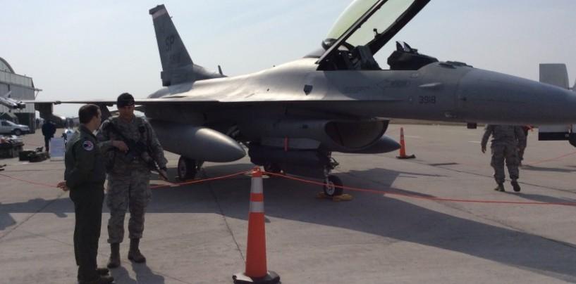 Americanii revin cu 12 aeronave F 15, la Câmpia Turzii