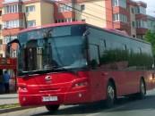 Mâine, circulația autobuzelor oprită în centrul orașului