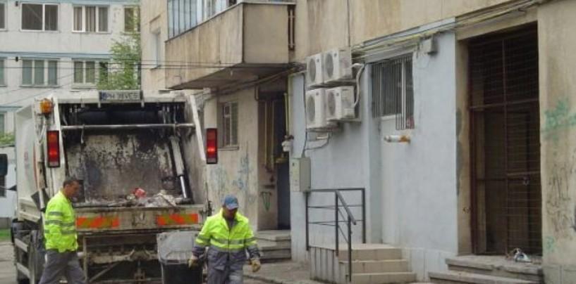 Programul de ridicare a gunoiului menajer în week-end