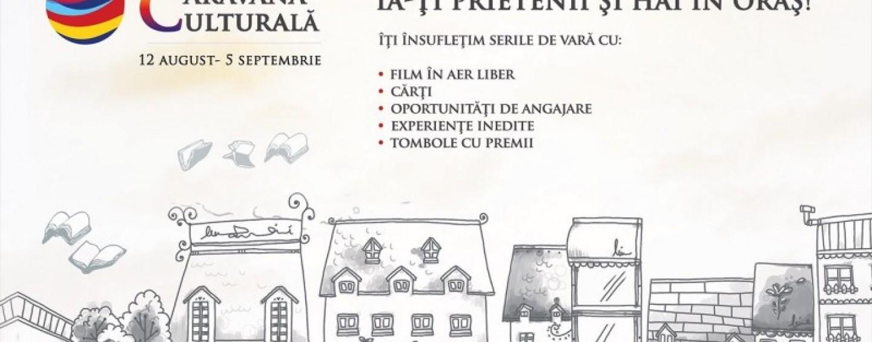 Caravana Culturală, un eveniment gatuit de film si carte vine la Turda