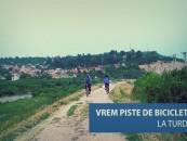 Petiție pentru o pistă de biciclete.Peste 500 de turdeni și-au manifestat susținerea pe Facebook