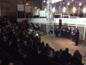 Amfiteatru neîncăpător la concertul de colinde de la Salină