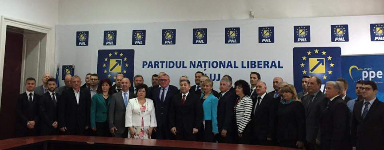 PNL a intrat oficial în cursa pentru Primăria Cluj şi Consiliul Judeţean