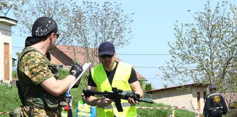 Jocul de-a războiul. Asociația Ludus Dacicus organizează primele jocuri de airsoft  la Turda