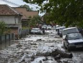 Inundații în subsoluri produse de ploile din județul Cluj