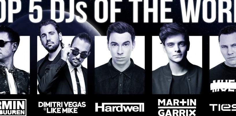 Primii cinci DJ ai lumii vin la UNTOLD 2016