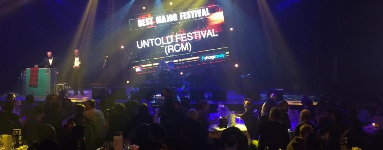 UNTOLD este marele câștigător la European Festival Awards 2015