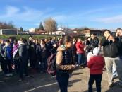 Peste 100 de elevi, la plantat de copaci