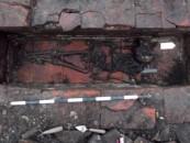 Mormânt roman descoperit pe traseul autostrăzii Sebeș-Turda