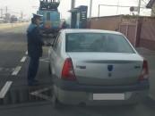 Polițiștii rutieri clujeni au început sancționarea parcărilor ilegale