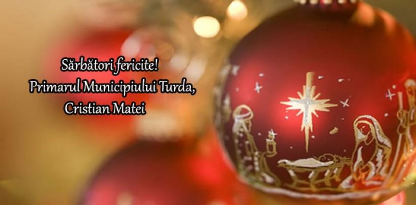 Mesajul primarului Turzii cu ocazia sărbătorilor de iarnă