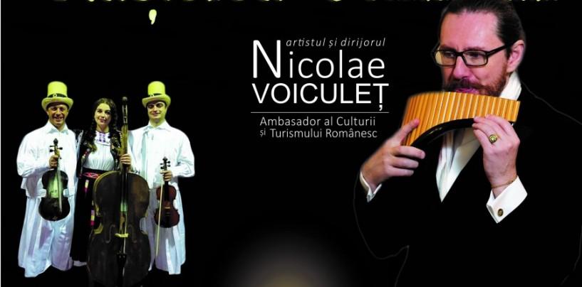 Artistul Nicolae VOICULET, ambassador al culturii si turismului romanesc, alaturi de ansamblul folcloric Ceatara, intr-un Regal de Sarbatoare la Salina Turda