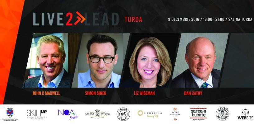 """(P) Conferința Skill Up """"Live2Lead Turda!"""""""