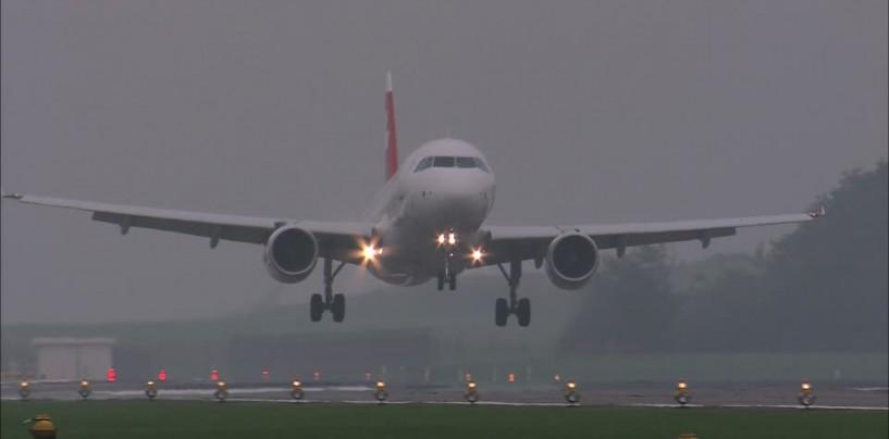 Zboruri întârziate sau anulate la Cluj, din cauza ceții