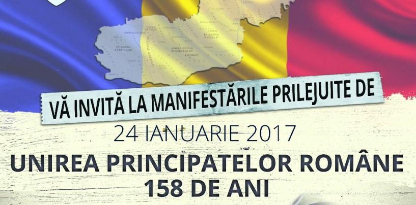 Programul manifestărilor dedicate Zilei Unirii Principatelor Române