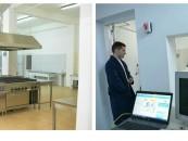 Computer tomograf și bucătărie renovată la spitalul din Turda