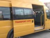 Primăria a stabilit orarul și traseul microbuzelor școlare