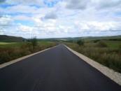 Drum montan în lucru