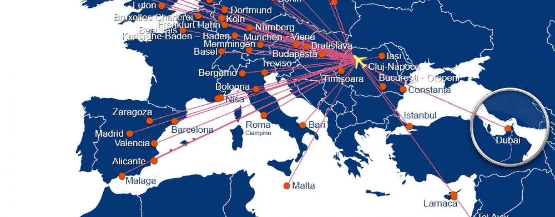 Noi destinații internaționale pe aeroportul clujean