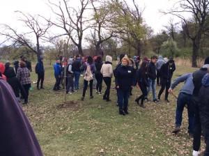 Elevi și profesori scoși de fraierii în frig pentru imaginea Primăriei Turda