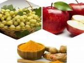 Turmericul, merele și strugurii ar putea deține secretul prevenirii și tratării  cancerului de prostată