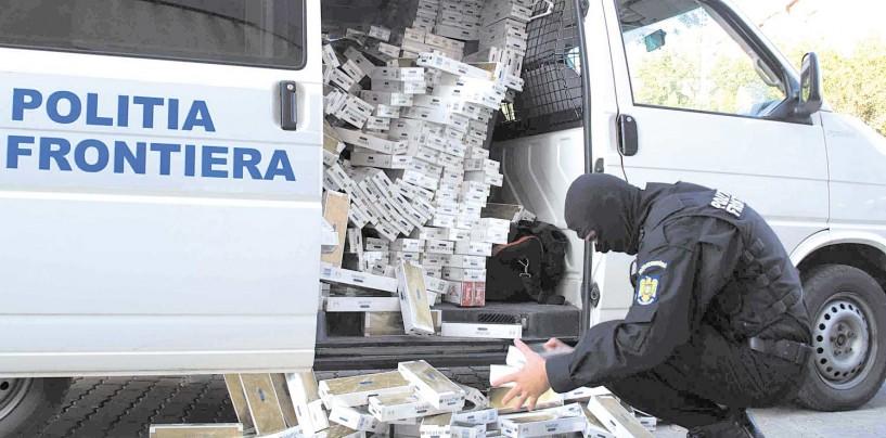 A crescut contrabanda cu țigări în județul Cluj, dar a scăzut la nivel național