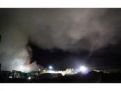 Incendiu de amploare la groapa de gunoi din Cluj