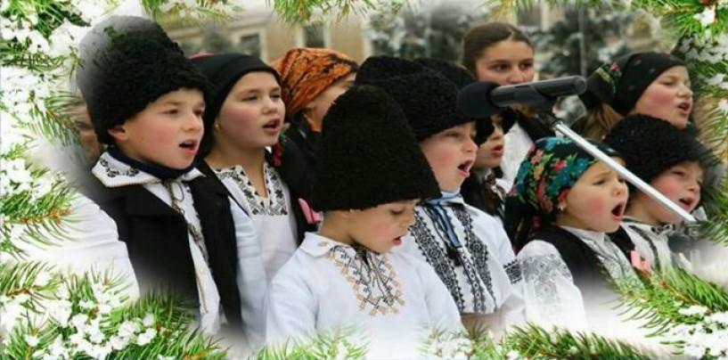 Concert de colinde în Mihai Viteazu
