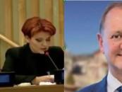 Olguța mai deșteaptă ca primarul Cristian Matei. Cum a ajuns Eurovisionul la Turda