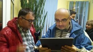 Jurnalistului Gelu Florea (stânga) a acuzat InfoAries.ro de manipulare. Astăzi administrația locală de la Turda a dovedit că a greșit