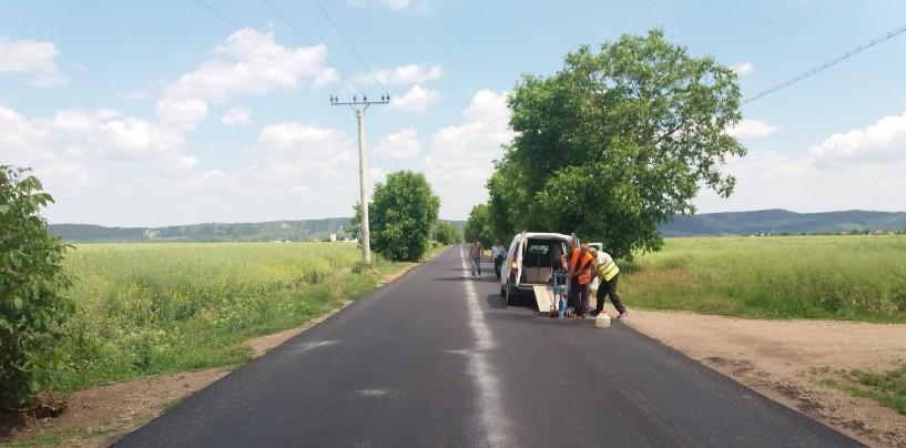 Drumul spre aeroportul militar din Luna a fost reabilitat