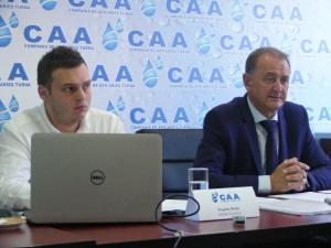 In urma investițiilor coordonate de Matei și Bobic, CAA a ajuns să vândă apă luată de la privați
