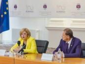 """Corina Crețu: """"Primăria Turda are o echipă profesionistă"""".  Comisarul european a contrazis declarații anterioare ale primarului Turzii"""