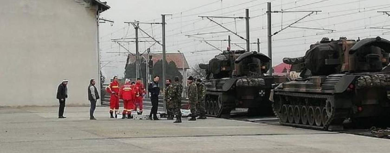 Un militar din Turda a murit electrocutat la Alba Iulia