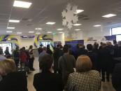 Aeroportul Avram Iancu a inaugurat o nouă zonă de îmbarcare