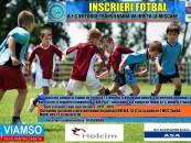 Curs de fotbal pentru copii