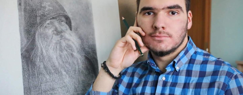 Unul dintre cei mai talentați tineri turdeni va expune azi la Galeria de Artă