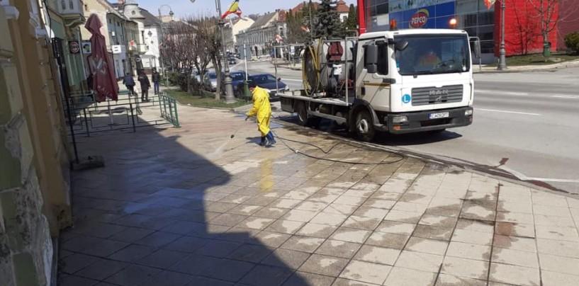 Domeniul Public acuzat că a cumpărat dezinfectanți la suprapreț. Directorul  dezminte acuzațiile